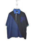 FACETASM(ファセッタズム)の古着「ポロシャツ」|ブラック