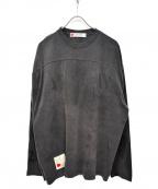 SEVESKIG(セヴシグ)の古着「20S/SL-SL CUSTOMARMY T カットソー」|グレー