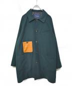 whiz limited(ウィズリミテッド)の古着「HIDE COAT」 グリーン