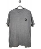 STONE ISLAND(ストーンアイランド)の古着「半袖ロゴTシャツ」 ライトグレー
