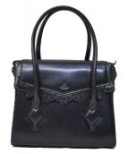 Vivienne Westwood(ヴィヴィアン・ウエストウッド)の古着「ハンドバッグ」|ネイビー