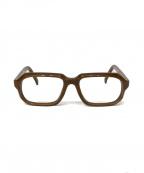 EFFECTOR(エフェクタ)の古着「伊達眼鏡」 ベージュ