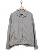 KUON(クオン)の古着「遠州藍織ハリントンジャケット」|グレー