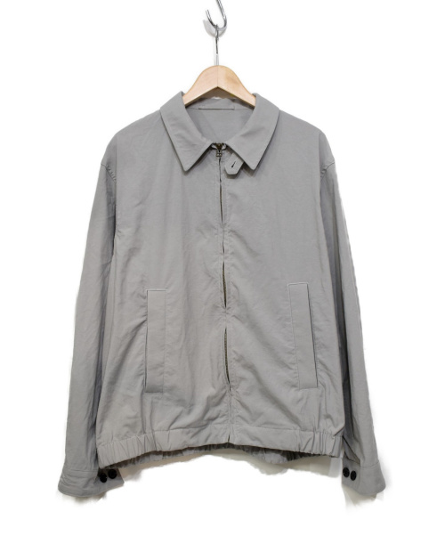 KUON(クオン)KUON (クオン) 遠州藍織ハリントンジャケット グレー サイズ:L 2001-JK01の古着・服飾アイテム