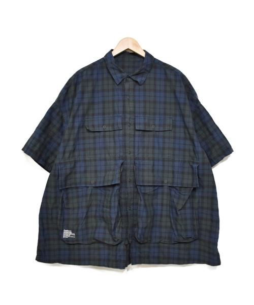 Fresh Service(フレッシュサービス)Fresh Service (フレッシュサービス) 5ポケットシャツ グリーン サイズ:表記無 FSW-20-SH-23の古着・服飾アイテム