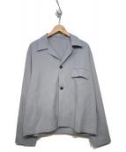 URU(ウル)の古着「オープンカラーシャツ」|スカイブルー
