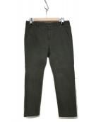 PT05(ピーティーゼロチンクエ)の古着「ガーメントダイ スラックス JUNGLE C5NT01」|カーキ