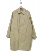 ANATOMICA(アナトミカ)の古着「ベンタイルステンカラーオーバーコート」|ベージュ