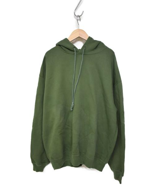 AURALEE(オーラリー)AURALEE (オーラリー)  SUPER SOFT HEAVY SWEAT P/O PA グリーン サイズ:4の古着・服飾アイテム
