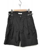 TOGA VIRILIS(トーガ ヴィリリース)の古着「Nylon ox short pants TV01-FF33」 ブラック