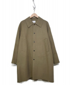 undecorated MAN(アンデコレイテッドマン)の古着「DOUBLE FACE COTTON CHESTER COA」|ブラウン