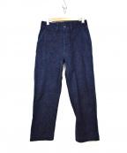 BLACK SIGN(ブラックサイン)の古着「15oz Denim Marine Trousers」|インディゴ