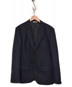 Paul Smith COLLECTION(ポールスミスコレクション)の古着「WOOL NEP JACKET」|ネイビー