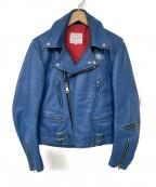Lewis Leathers(ルイスレザース)の古着「LIGHTNING」 ブルー