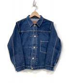 ATLAST & CO(アットラスト)の古着「デニムジャケット」|インディゴ