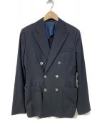 ACNE STUDIOS(アクネステュディオズ)の古着「ダブルブレストジャケット」|ネイビー