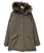 WOOLRICH(ウールリッチ)の古着「LUXURY ARCTIC PARKA」|ブラウン