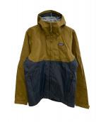 Patagonia(パタゴニア)の古着「Torrentshell 3L Jaket」|ベージュ