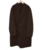 Ermenegildo Zegna(エルメネジルドゼニア)の古着「カシミヤ混チェスターコート」 ブラウン