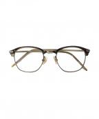 金子眼鏡(カネコメガネ)の古着「眼鏡」|ブラウン