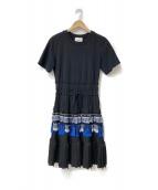 3.1 phillip lim(スリーワン フィリップ リム)の古着「プリーツ ドレス」 ブラック