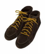 LOUIS VUITTON(ルイヴィトン)の古着「EAGLE SNEAKER BOOT」|ブラウン
