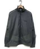 yoshio kubo(ヨシオクボ)の古着「SILK WOOL TRACK JKT」|グレー
