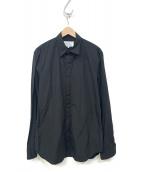 Maison Margiela(メゾンマルジェラ)の古着「コットンL/Sシャツ」|ブラック