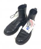 WHITES BOOTS(ホワイツ ブーツ)の古着「10ホールスモークジャンパー」 ブラック
