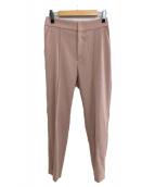 Noble(ノーブル)の古着「サイドジップパンツ」|ピンク