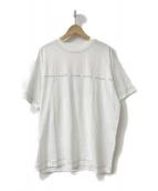 ACNE STUDIOS(アクネステュディオズ)の古着「ロゴプリントTシャツ」|ホワイト