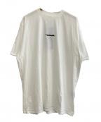 ADER error(アーダーエラー)の古着「Obtin T-shirts」|ホワイト