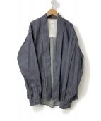 VISVIM(ヴィズヴィム)の古着「20SS LHAMO SHIRT ONE WASH」|インディゴ