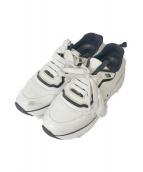 PRADA SPORTS(プラダスポーツ)の古着「ナイロンレースアップスニーカー」|ホワイト