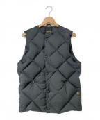 Comfy Outdoor Garment(コンフィーアウトドアガーメンツ)の古着「ダウンベスト」|ブラック