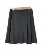 HERMES()の古着「スカート」 ブラック