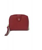()の古着「2つ折りミニ財布」|レッド
