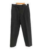()の古着「cavalry twill cigarette pants」 ブラック
