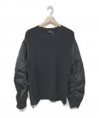 N°21(ヌメロヴェントゥーノ)の古着「18A/W 切替ニット」|ブラック