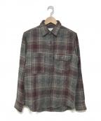 MOUNTAIN RESEARCH(マウンテンリサーチ)の古着「チェックネルシャツ」 レッド