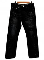 A BATHING APE()の古着「デニムパンツ」 ブラック