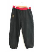 ()の古着「BUSHI FLEECE PANTS 」|ブラック