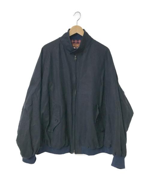 MAINU(マイヌ)MAINU (マイヌ) Linen Emergency G-9 type Blous ネイビー サイズ:2 162005の古着・服飾アイテム