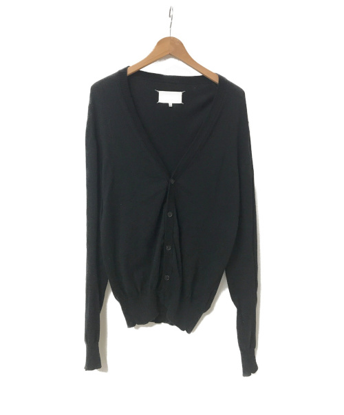 Maison Margiela(メゾンマルジェラ)Maison Margiela (メゾンマルジェラ) 18A/W エルボーパッチニットカーディガン ブラック サイズ:S S50HA0820 S16390の古着・服飾アイテム