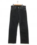 LEVIS VINTAGE CLOTHING(リーバイスヴィンテージクロージング)の古着「501デニムパンツ」|ブラック