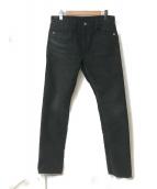 ()の古着「コットンパンツ」|ブラック