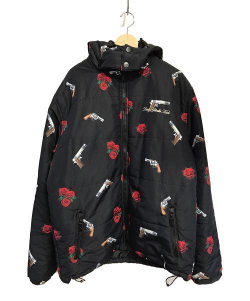 DGK(ディージーケー)DGK (ディージーケー) ダウンジャケット ブラック サイズ:XLの古着・服飾アイテム
