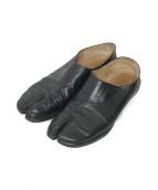 Maison Margiela(メゾンマルジェラ)の古着「足袋スリッポン」|ブラック
