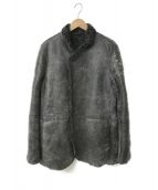 ()の古着「ムートンジャケット」|ブラック