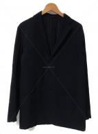 ()の古着「17A/W ウールナイロン3Bジャケット」|ネイビー
